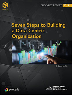 TDWI Checklist Report Seven Steps to Building a Data-Centric Organization