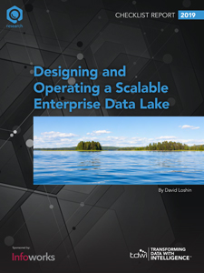 TDWI Checklist Report | Designing and Operating a Scalable Enterprise Data Lake