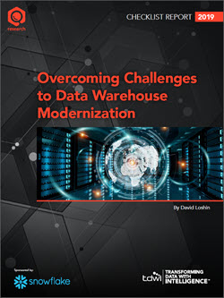 TDWI Checklist Report | Overcoming Challenges to Data Warehouse Modernization