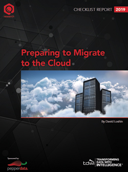 TDWI Checklist Report Preparing to Migrate to the Cloud