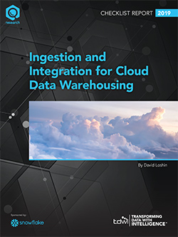 TDWI Checklist Report Ingestion and Integration for Cloud