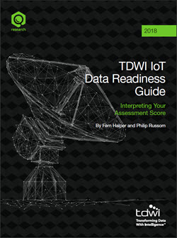 TDWI IoT Data Readiness Assessment Guide