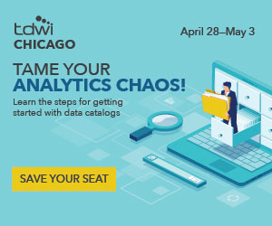 TDWI Chicago Conference Discount 2019