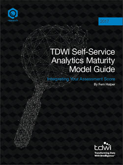 TDWI Self-Service Analytics Maturity Model Guide