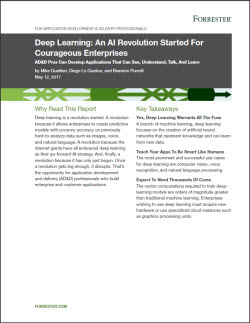 Cloudera WP Forrester Deep Learning