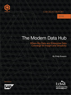 TDWI Checklist Report - The Modern Data Hub